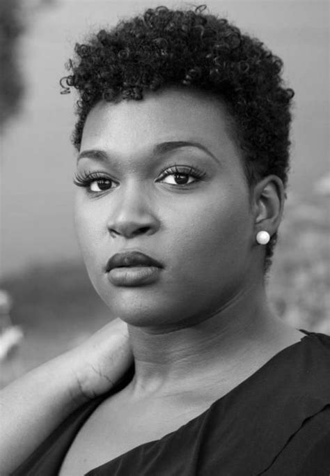sophisticated natural twa for women short natural haircuts for round faces google search