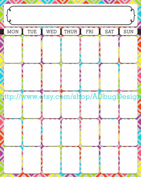 printable calendar days 30 day calendar template great printable calendars