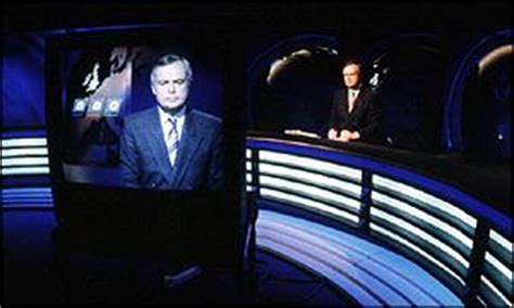 six o clock news with martyn lewis and moira stuart on news entertainment martyn lewis leaves news