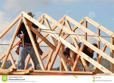 Was Sind Dachsparren by Dach Dachsparren Stockfoto Bild 55216969