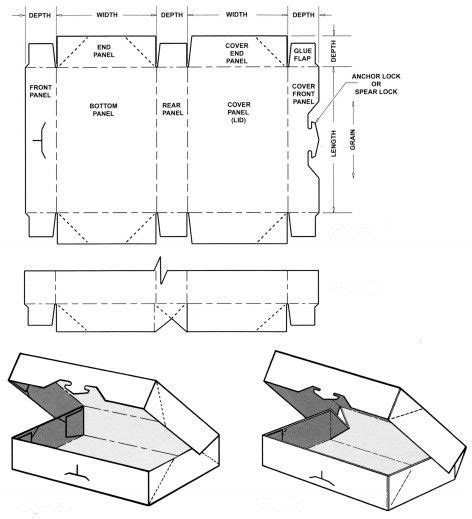 templates for foldable boxes packagingbox corrugated and folding carton box templates