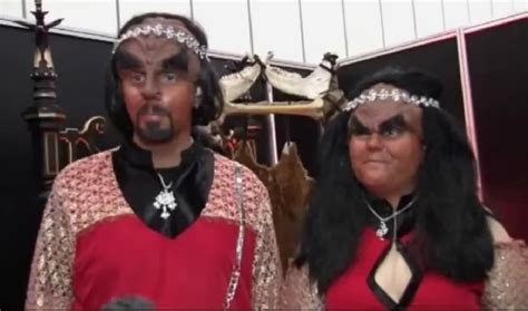 klingon wedding blessing gets married in klingon wedding ceremony geekologie