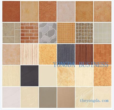 tiles color burgundy red dark brown hairs