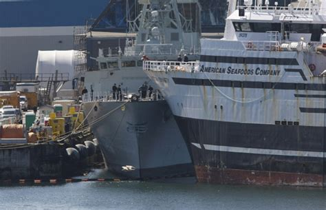 fishing boat accident canada u s fish boat collided with docked canadian navy ship 6