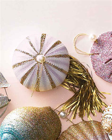 Martha Stewart Ornaments Handmade - sea urchin jellyfish ornaments martha stewart