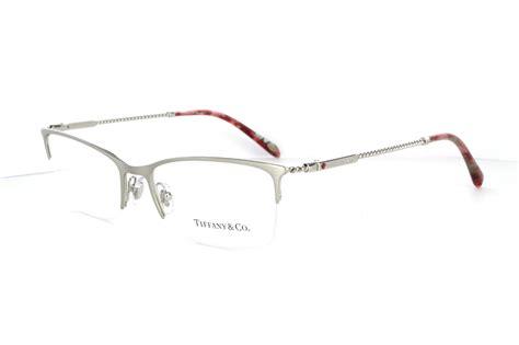 brand new co brushed silver eyeglasses glasses