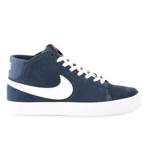 Sepatu Nike Sb Blazer Navy White nike sb blazer mid lr navy white natterjacks