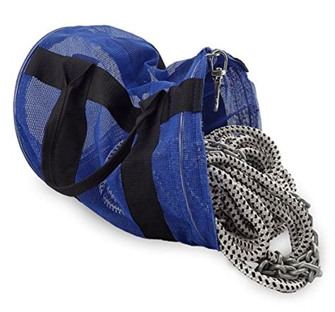 boat anchor storage bag norestar mesh anchor rope and chain bag for boat anchor