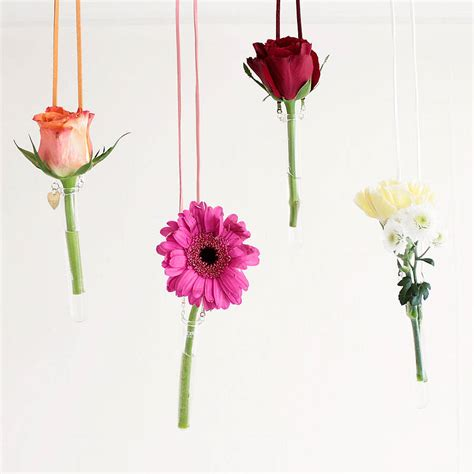 Hanging Test Vase by Personalised Hanging Glass Test Vase By Newton And