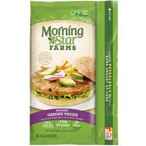 morningstar farms 174 garden veggie burgers