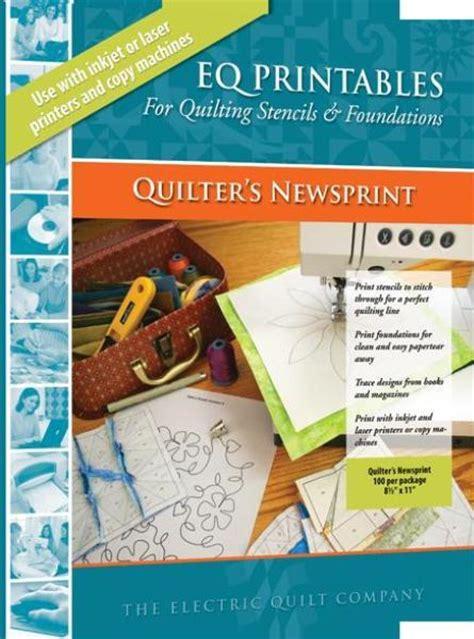 eq printable fabric roll electric quilt eq printables quilter s newsprint 4my3boyz