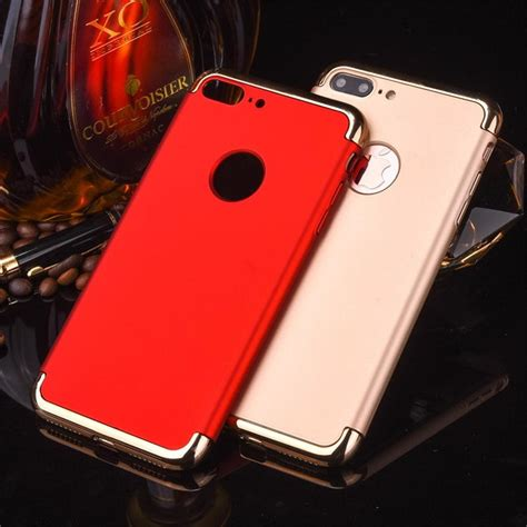 Iphone 7 Luxury Hybrid Clear Back Cover hybrid cover for iphone 7 electroplating