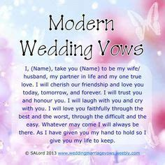 Wedding Blessing Humorous by Wedding Vows Things I