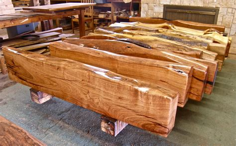 Wood Couches by Make Rustic Decoration With Mesquite Wood Furniture