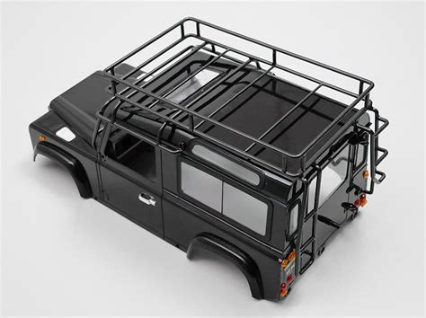 Rc Car Adventure Land Rover Defender D90 Axial Scx10 Rc4wd 10th rc4wd adventure metal roof rack land rover d90