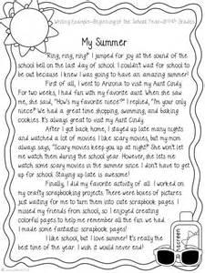 story essay exle narrative writing my summer narrative writing school and summer