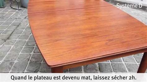 renover une table en bois 4622 r 233 nover une table en bois