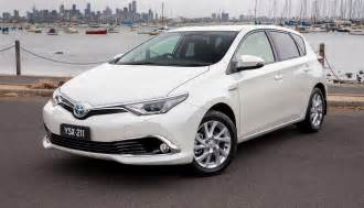 Toyota Corolla S Toyota Corolla Hybrid Hatch Coming To Australia In 2016
