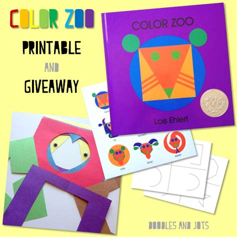 color zoo color zoo for you doodles and jots