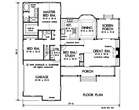 nhd home plans house plan the chesden by donald a gardner architects