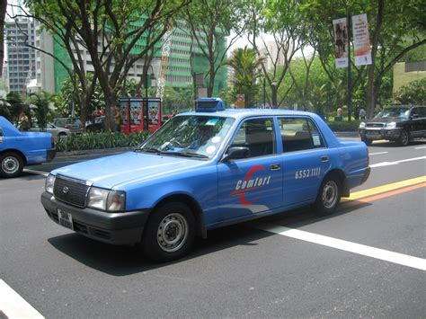 Toy 玩具 Singapore Comfort Taxi Model Type I