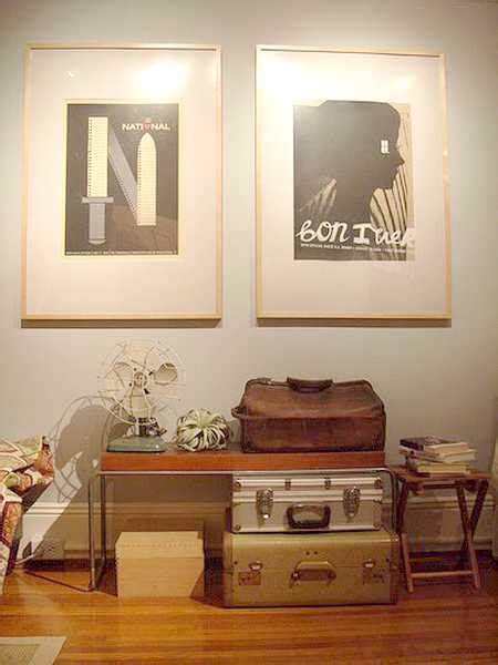 vintage looking home decor 20 design ideas to upcycle old suitcases to modern furniture and artworks in vintage style