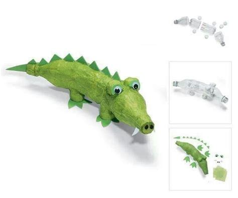 How To Make Crocodile With Paper - 1000 ideas about crocodile craft on alligator