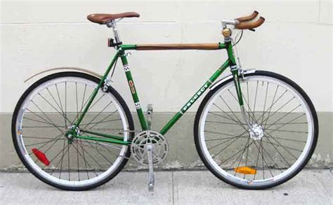 peugeot bike green bikecult bikeworks nyc archive bicycles peugeot single