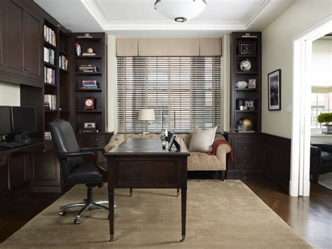 Houzz Home Office by Transitional Library Traditional Home Office