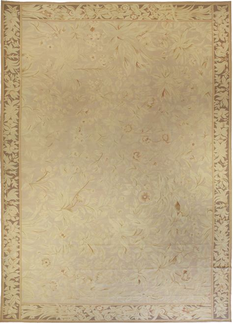 large gold aubusson rug n10683 by doris leslie blau