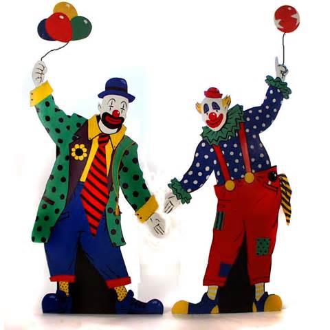 Wedding Draping Decor Circus Clown Cutouts The Prop Shop
