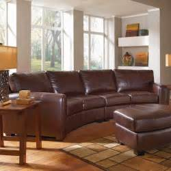 Curved Leather Sectional Sofa Curved Sofa Curved Leather Sofa