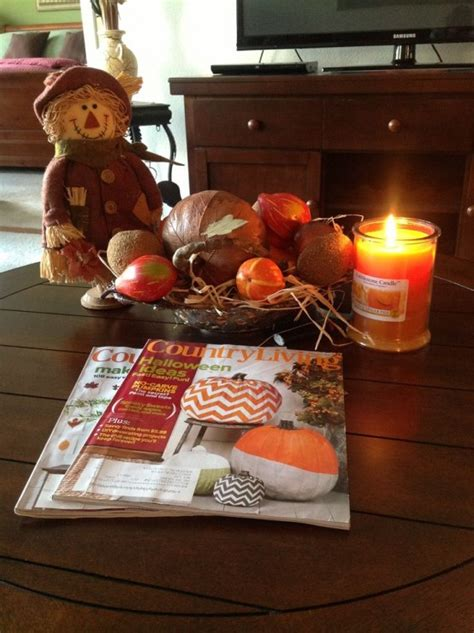 fall decorations for tables 43 fall coffee table d 233 cor ideas digsdigs
