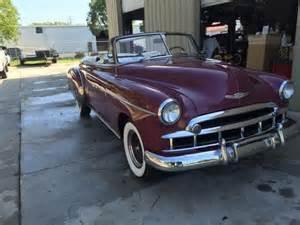 1949 Chevrolet Convertible 1949 Chevy Deluxe Convertible For Sale Photos Technical