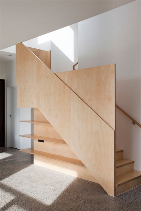 Plywood Stairs Design Essendon Prefab Addition At Home Precision Home Extensions Prefab Homes