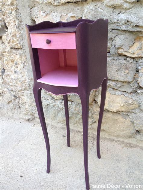 Table De Nuit Violette by Table De Nuit Violette Pause D 233 Co Atelier De