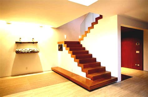 Modern Staircases Interior by Best Home Interior Design Stairs With Wooden Fence