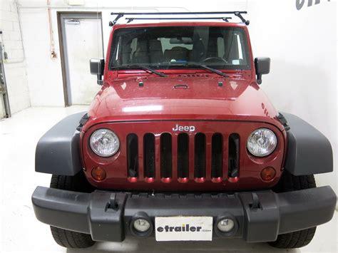 2004 Jeep Wrangler Roof Rack Thule Roof Rack For Jeep Wrangler 2004 Etrailer