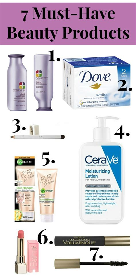 7 Must Haves From The Shop by 7 Must Products