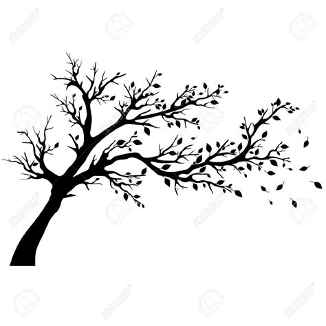 trees silhouettes stock illustration image of color 43384093 tree silhouette black clipart clipground