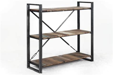 Design Ideas For Etagere Furniture Vente 233 Tag 232 Re 120 Cm De En Bois Recycl 233 Et M 233 Tal Pour Un Style Industriel Dans Votre Int 233 Rieur