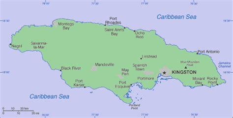 america map jamaica jamaica america
