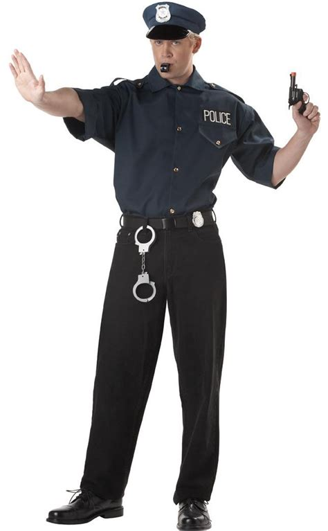 Officer Costume by Cop Shirt Costume Ebay