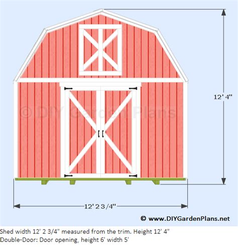 diy  gambrel shed