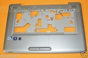 toshiba satellite l455 l455d laptop palmrest w touchpad speakers k000084460 ebay
