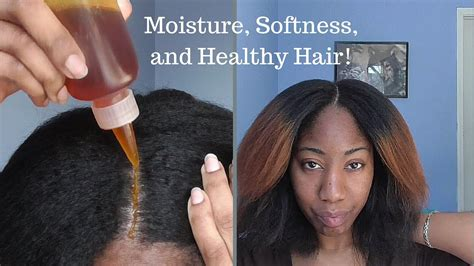 soften course hair wash routine to moisturize and soften thick natural hair