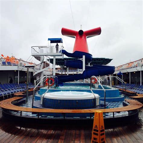 paradies decken ship on carnival paradise cruise ship cruise critic