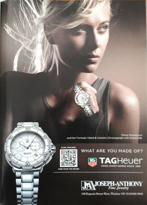 tag heuer ads tag heuer sts mobile call to action on vogue ad