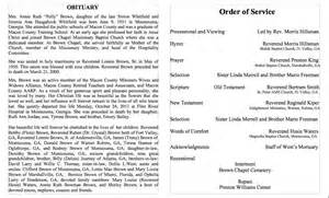 Obituary Template For by 25 Free Obituary Templates And Sles Free Template