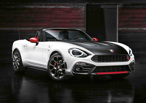 abarth 124 spider unveiled at geneva motor show motrface